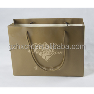 Huaxin wholesale high grade shopping paper bags for clothes