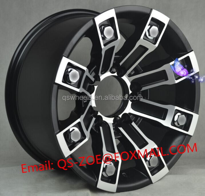 fashion design 20 inch offroad wheels 4x4 wheel rim 6x139.7 for sale rims suv 4x4 pcd 5X150
