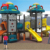 hot sale new Plastic Kids outdoor Playhouse Playground Slide For Sale