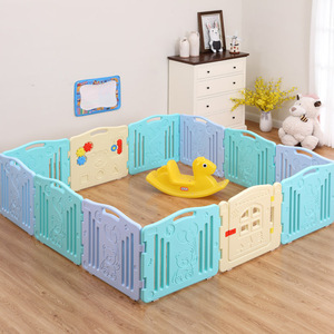KB01001 New Design No Screws Installation Baby Plastic Playpen