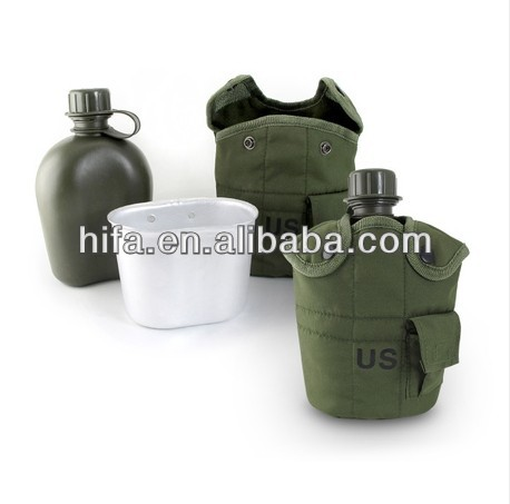 Army mess tins Army cooking cup military drinking bottle and cup with carry pouch