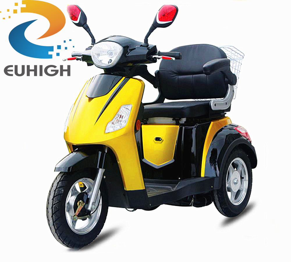 adult 3 wheel electric scooter delivery motorcycle