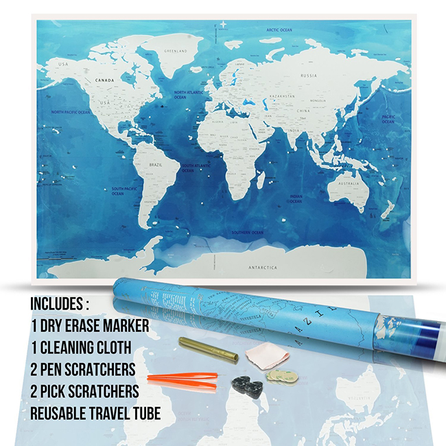 a66864b536572 Wholesale Price Big Size Scratch Off Map Customized Portable Travel Scratch  Map Oceans - Buy Ocean Scratch Map,Blue Scratch Map,Travel Scratch Map ...