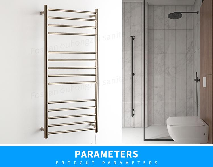 Ronde Buis Stalen Ladder Handdoekradiator/badkamer Handdoek Warmer ...