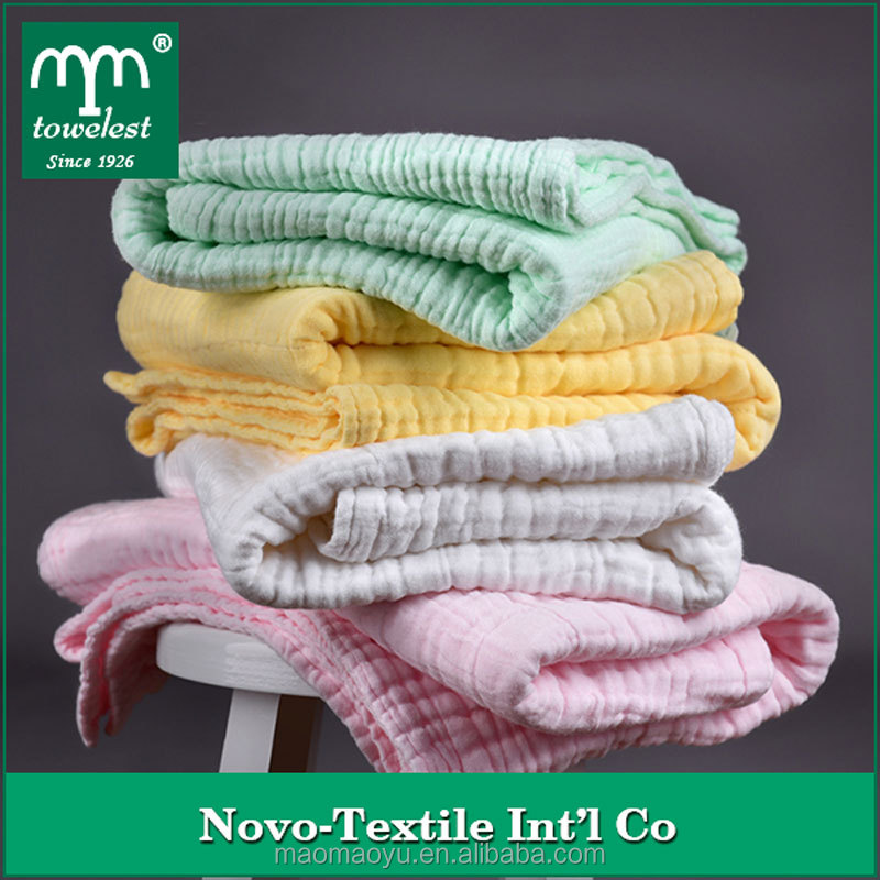 China Manufacturer Top Selling Baby Six Cotton Gauze antibacterial bath Towel