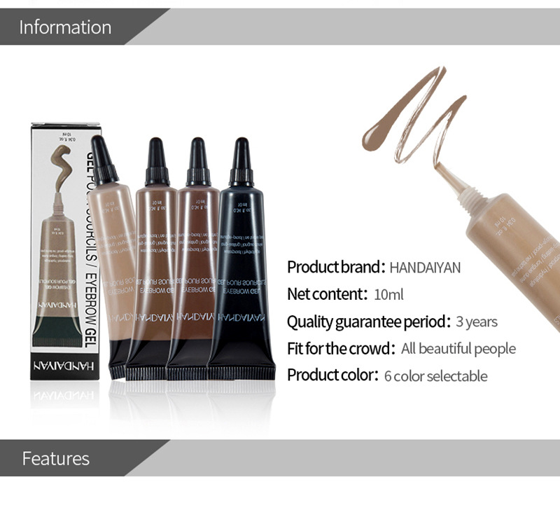 Eyebrow Cream Gel Maquillaje Professional Makeup Microblading