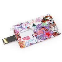 OEM Printing Flash Memory USB Card Stick Drive