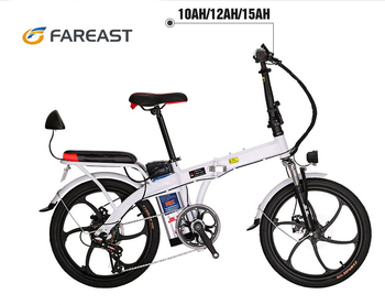 20 inch 48V hi-ten steel electric bike 250W high-quality electric scooter