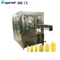 Automatic rotary liquid water 8 heads cooking edible olive oil bottle filling machine