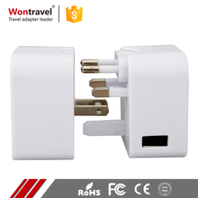 FCC CE ROHS Alibaba Recommend Travel Universal Adaptor Plug Smart Charger Power AC DC 5V Adapter