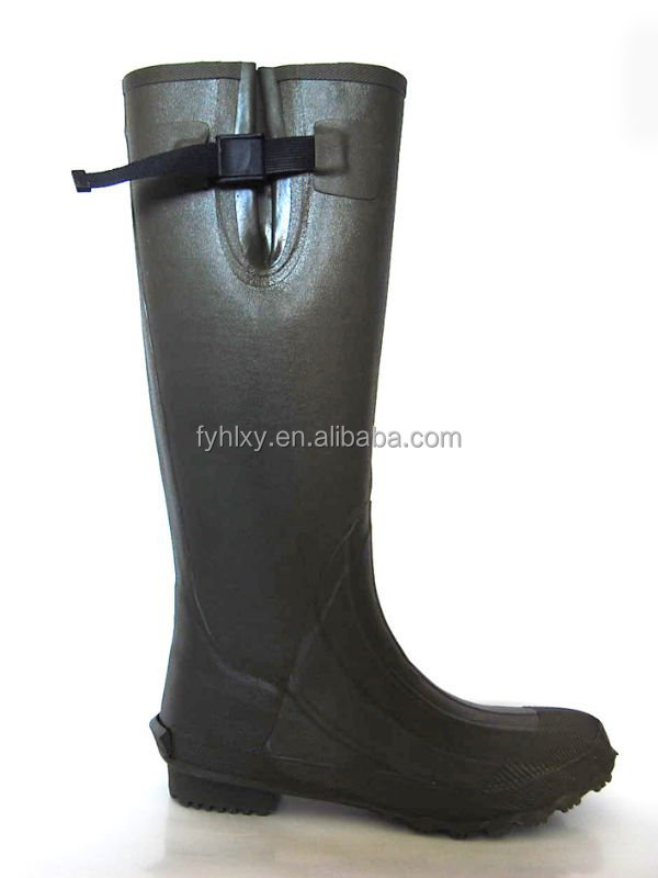 Rubber Man Rain Boots In China Factory Men Fashion Rubber Rain ...