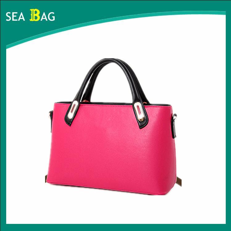 363623e283981 العصرية نمط حقائب يد السيدات 2016 ماركة نوعية جيدة 3 أجزاء مجموعات  المراهنات مع محفظة نسائية