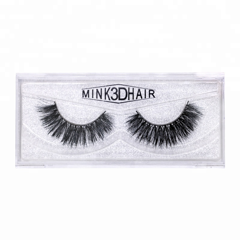 Premium Quality Fluffy and Universal for All Eyes Handmade Multilayer Thick Mink 3D False Eyelashes