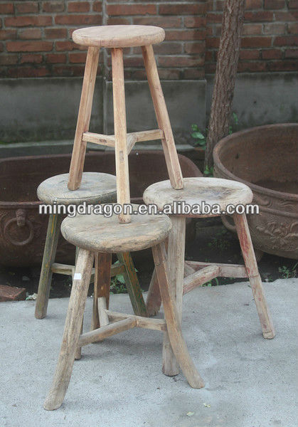 Surprising Recycled Wood Furniture Wooden Three Legged Bar Stool Buy Antique Wooden Bar Stool Cheap Wooden Bar Stools Unique Wooden Bar Stool Product On Evergreenethics Interior Chair Design Evergreenethicsorg