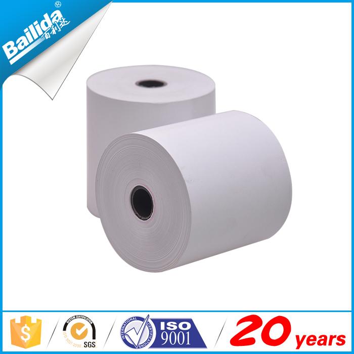 Fornitore della cina 80x80 plastica nucleo rotolo di carta termica per registratore di cassa commercio all'ingrosso, fabbrica, venditore, produttore