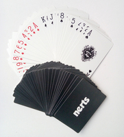 Custom design paper poker playing cards for sale