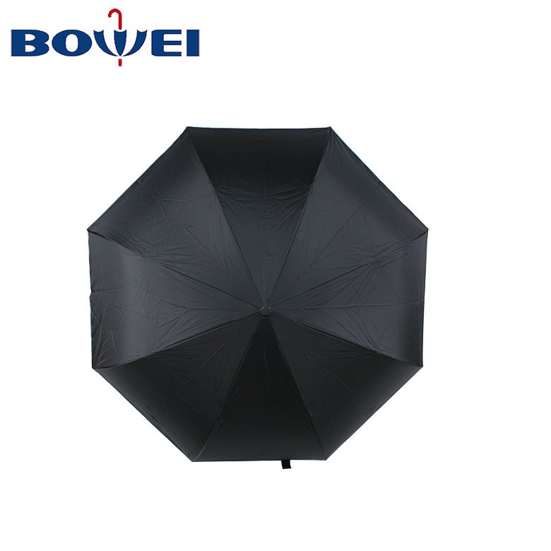 Custom logo manual inverse reverse umbrella invert black grey hand arm free golf double layer umbrella