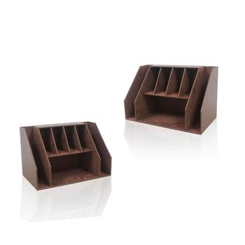 Practical Leather Office Organizer Stationery Set