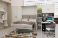 Durable folding wall bed,transformable bed with folding and pull down,advanced folding wall bed mechanism