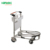4 wheels hand brake airport luggage trolley carts