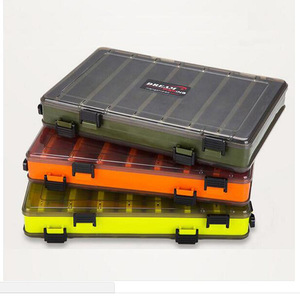 YOUME Fishing Lure Box Double Sided Tackle Box Fishing Lure Squid Jig Accessories Box Minnows Bait Fishing Tackle Container