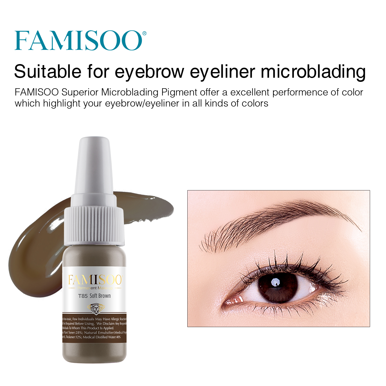 Professional Supply Permanent Makeup Pigment Microblading