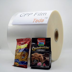 OPP/CPP film pe plastic film bag flexible packaging pouch made laminated OPP CPP film