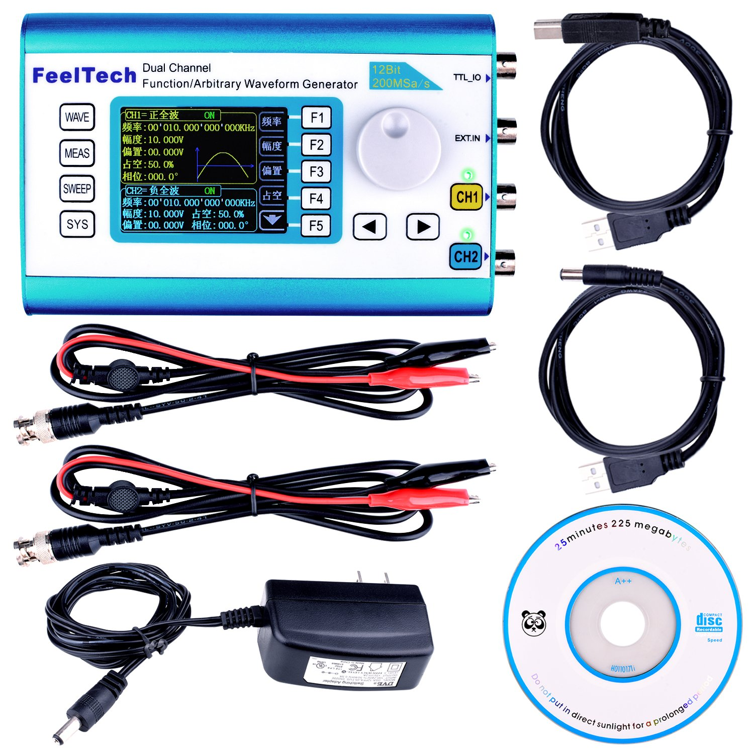 Cheap 20mhz Function Generator Find Deals Get Quotations Kuman High Precision Dds Arbitrary Waveform With 24 Tft Digital