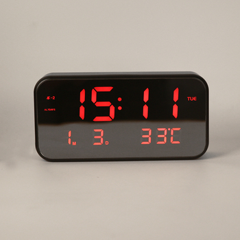 Smart Alarm Clock >> Home Decoration Light Alarm Clock Led Digital Desk Smart Alarm Clock
