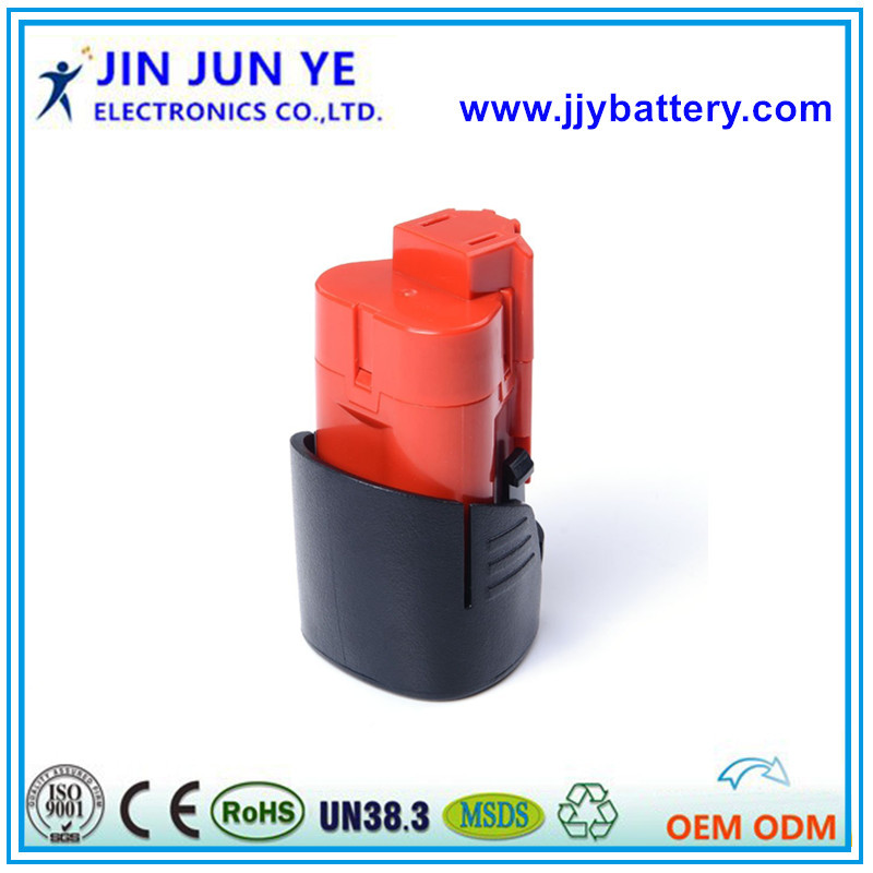 good quality cordless 1.5AH 2.0AH 2.5AH battery for 12V Milwauke power tools Milwaukee 48-11-2411 M12 for online shopping