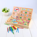 Math Toy Learning Count Sticks Number Calculate Toy Kids Educational Wooden Maths Toys Preschool Teaching Counting