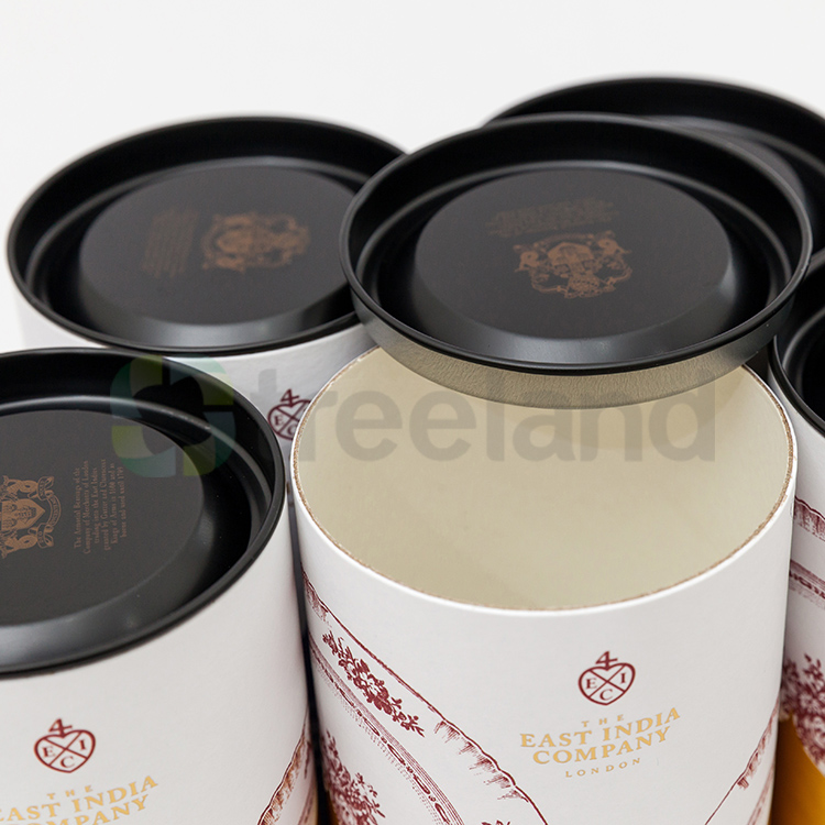 Custom Printed Cylinder Chocolate Boxes Paper Cylinder Packaging Box