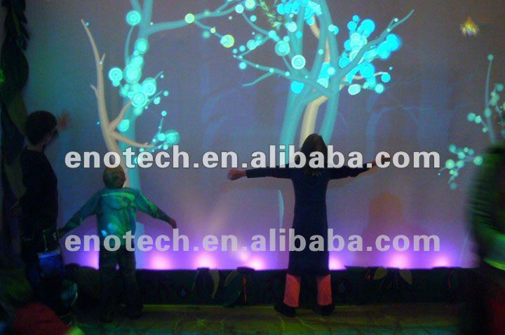 3d Image Interactive Wall/floor Projection System Display For ...