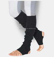 wholesale cable knit winter 100%acrylic yoga women dance leg Warmers