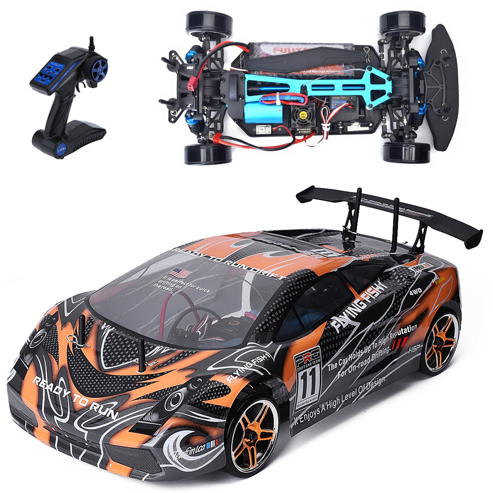Www Rc: HSP Rc Car 1/10 Scale Models 4wd Electric Power Brushless