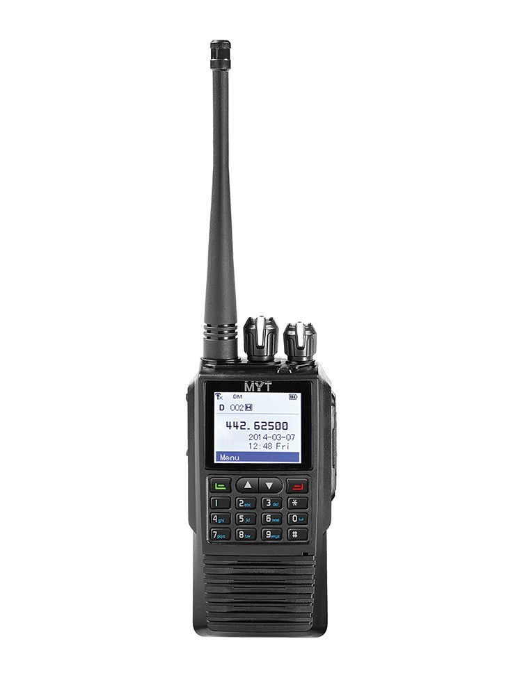Cheap promocional dmr fm digital walkie talkie