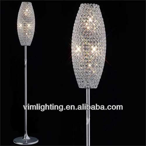 Modern Oval Chrome Crystal Floor Lamp - Buy Floor Lamp,Crystal Floor Lamp,Modern  Oval Chrome Crystal Floor Lamp Product on Alibaba.com - Modern Oval Chrome Crystal Floor Lamp - Buy Floor Lamp,Crystal