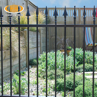 European style factory direct removable wrought iron fence