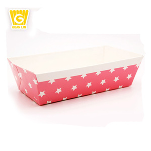 Customized top quality and fashion popular design colorful paper baking cake pan