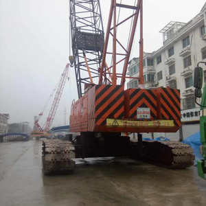 Bangladesh Japan Kobelco 7150 Crawler crane for sale in Shanghai ,China   Kobelco 150ton crawler crane for Bangladesh