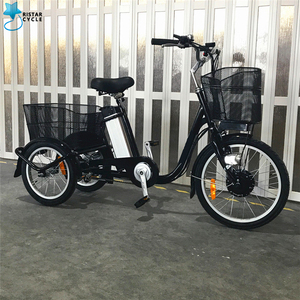 3 wheel electric road bike bicycle for old people