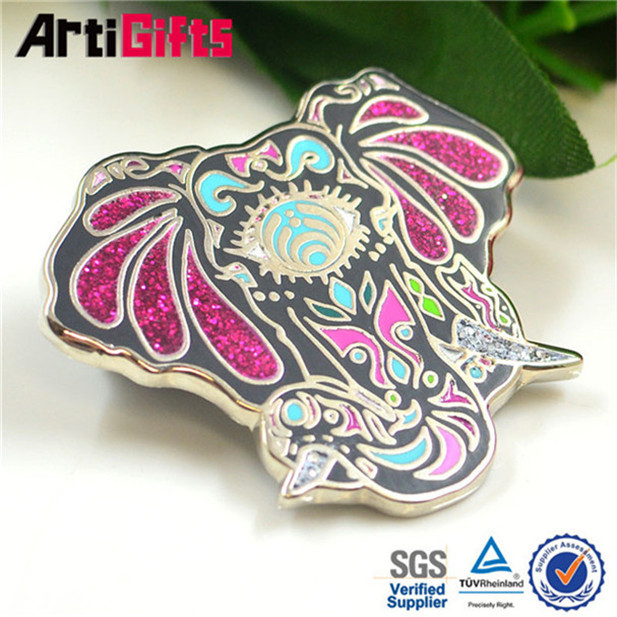 Wholesale cheap candle lapel pin