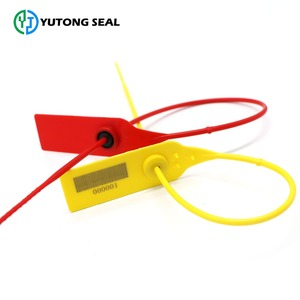 Colorful self locking custom printed security plastic seal YT-PS 107