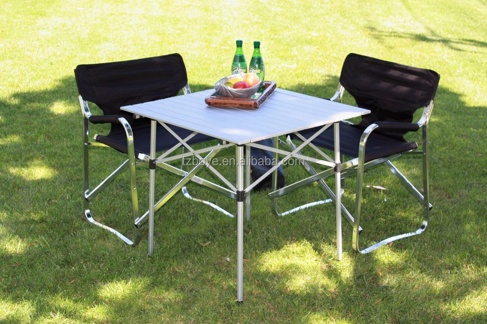 Table In A Bag Tall Aluminum Portable Table With Carrying