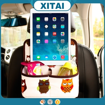 groothandel xitai auto interieur accessoires kids leuke auto achterbank organizer met 2 zakken art