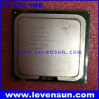Used pull clean intel cpu pentium 4 P4 570/570J 3.8GHz 1MB SL82U