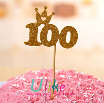 1st Cake Topper Decoration 100years