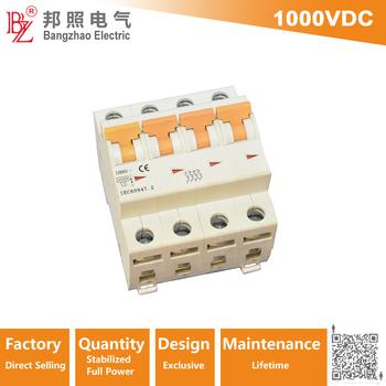 1000v Dc 4p High Voltage Circuit Breaker For Pv Module System - Buy Circuit  Breaker,4p High Voltage Circuit Breaker,4p Circuit Breaker Product on
