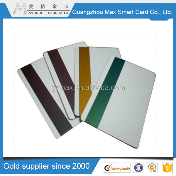 Hot product cheap magnetic business card/metal magnetic stripe card