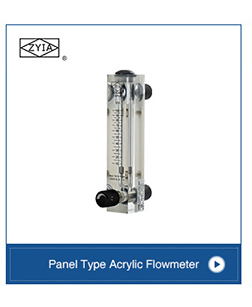Kingtai high performance acrylic inline air rotameter(water rotameter)